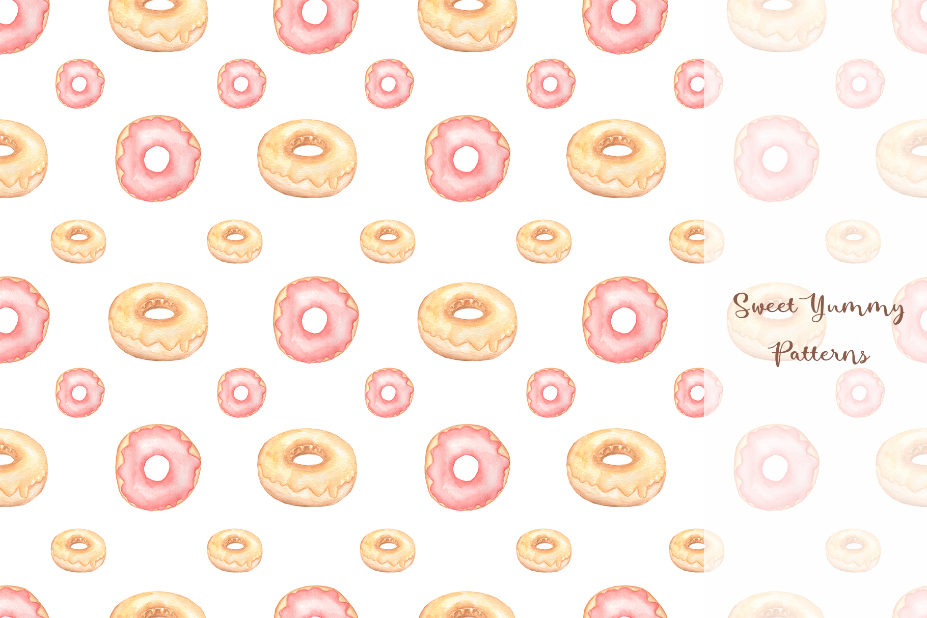 Sweet Yummy Patterns Collection example image 2