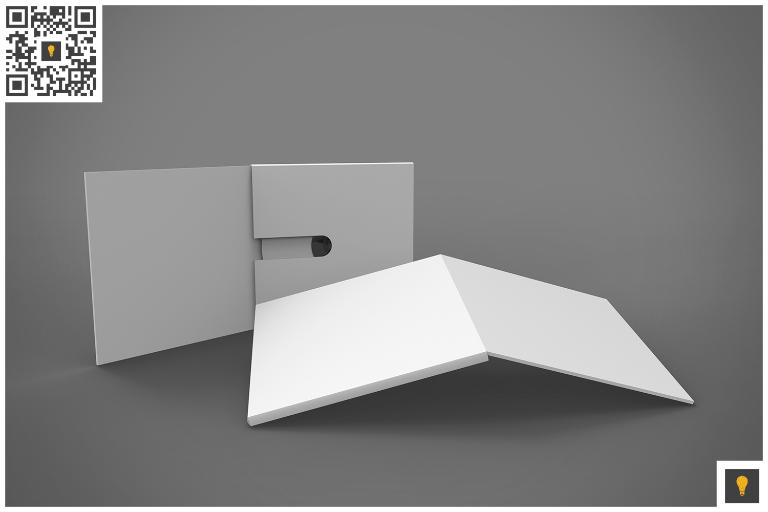 Branding Stationary 3D Render example image 3