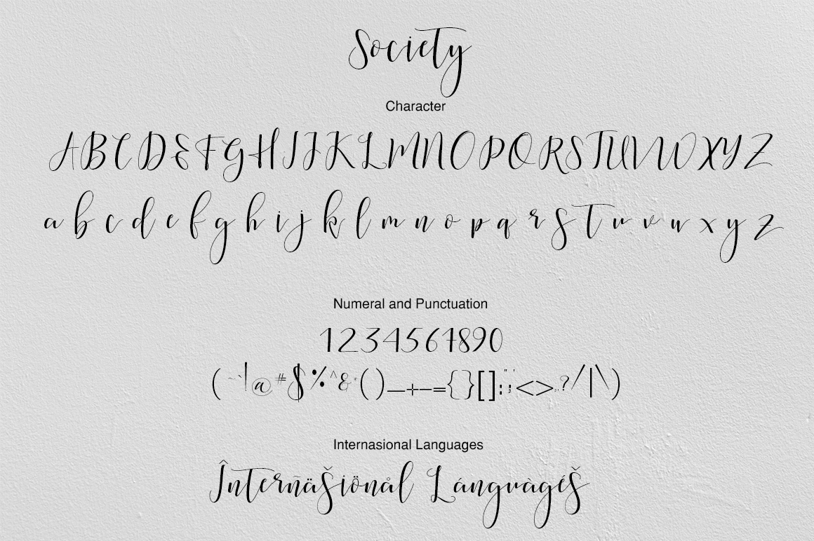 Society Calligraphy Modern example image 8