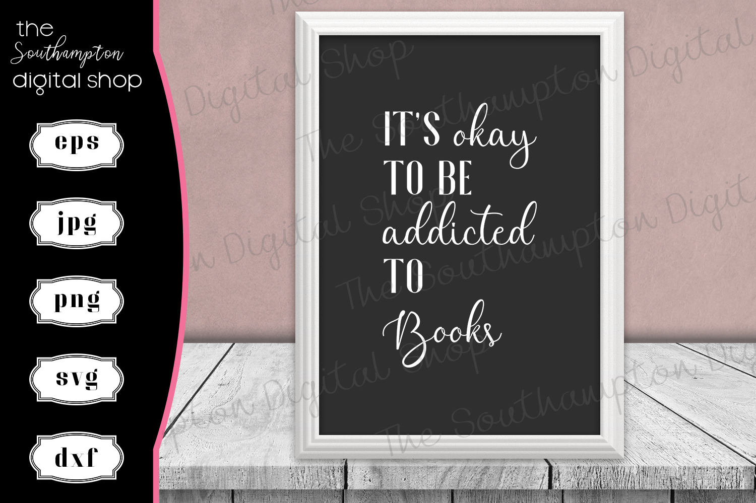 Funny Book Addict Quote example image 1