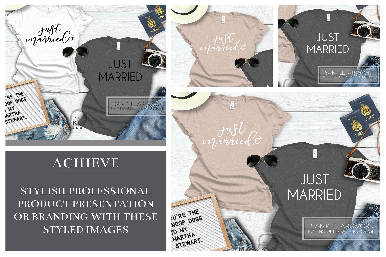 Adult T-Shirt/ T-Shirt Mock-up, Bella Canvas T-Shirts/ example image 3