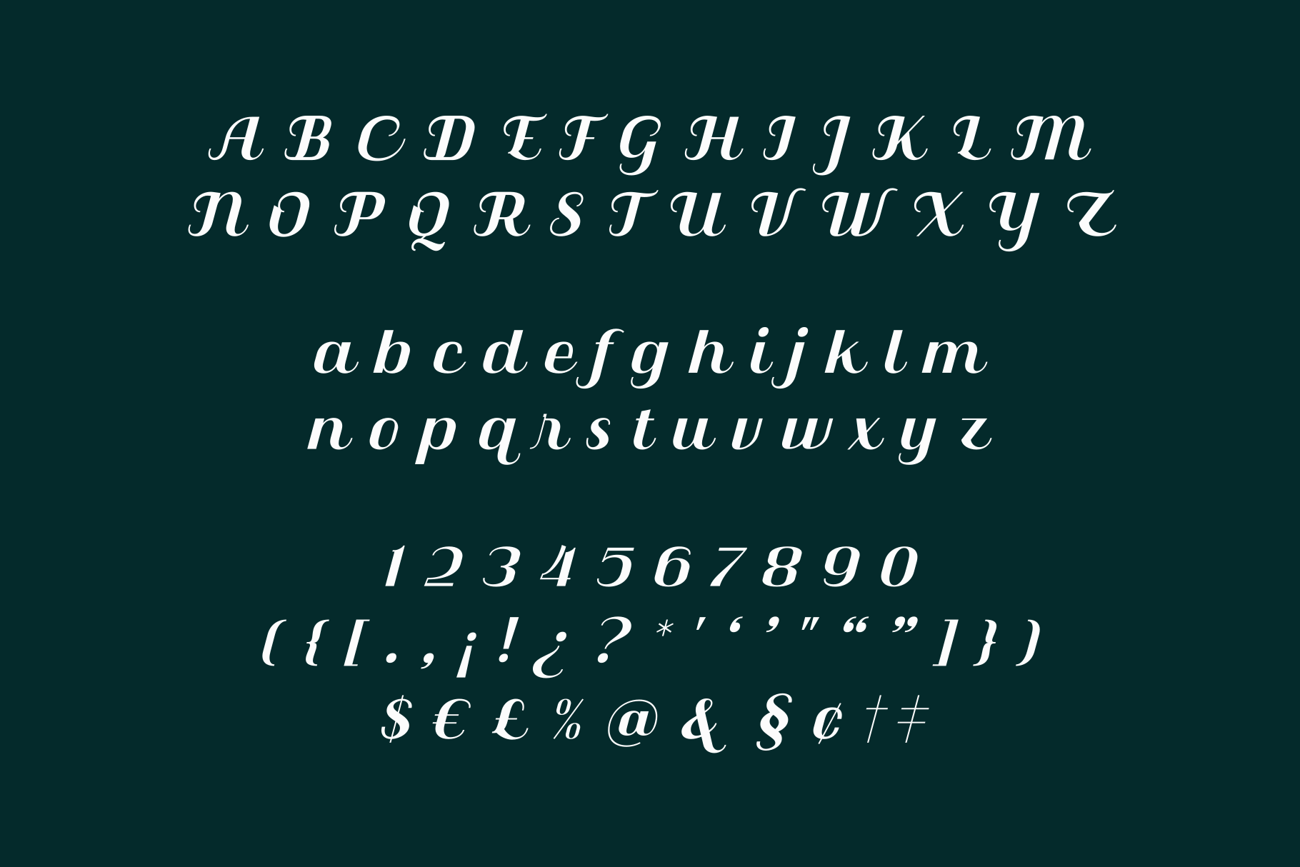 Qilla Typeface example image 11