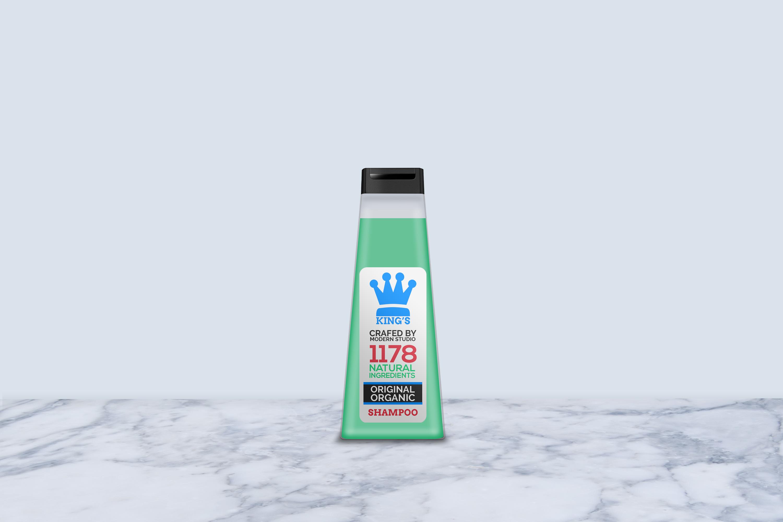 Hair and Body Shampoo Bottle Mock-Up example image 6