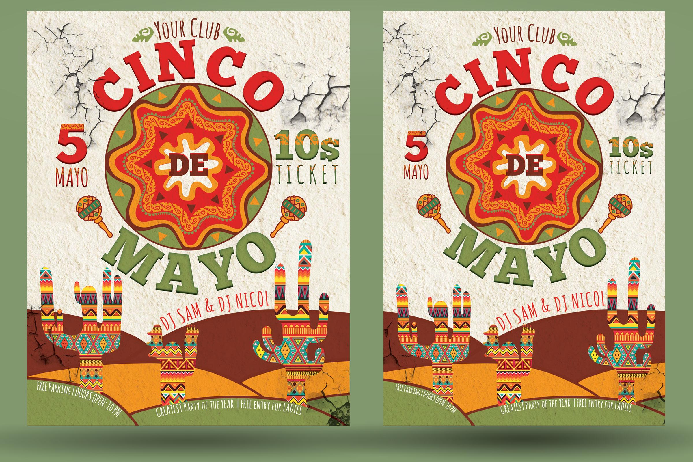 Cinco de Mayo Flyer example image 2