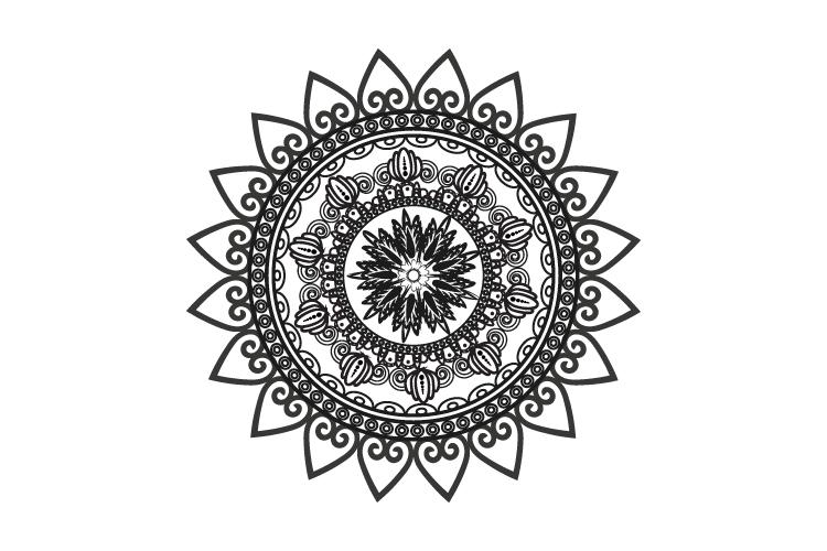 Mandalas. Round forms. example image 10