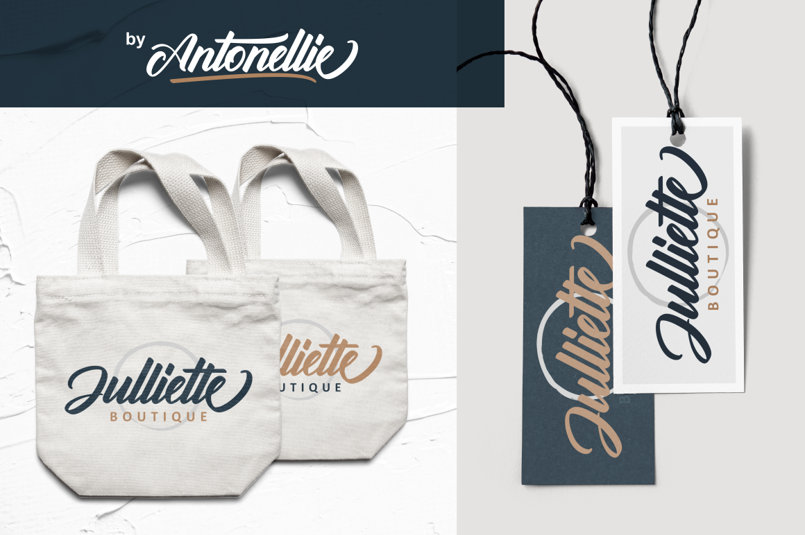 Antonellie Hand Lettered Script example image 11