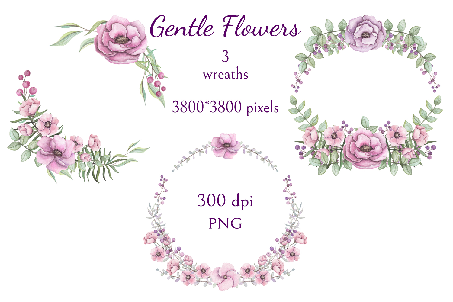 Gentle Flowers example image 3