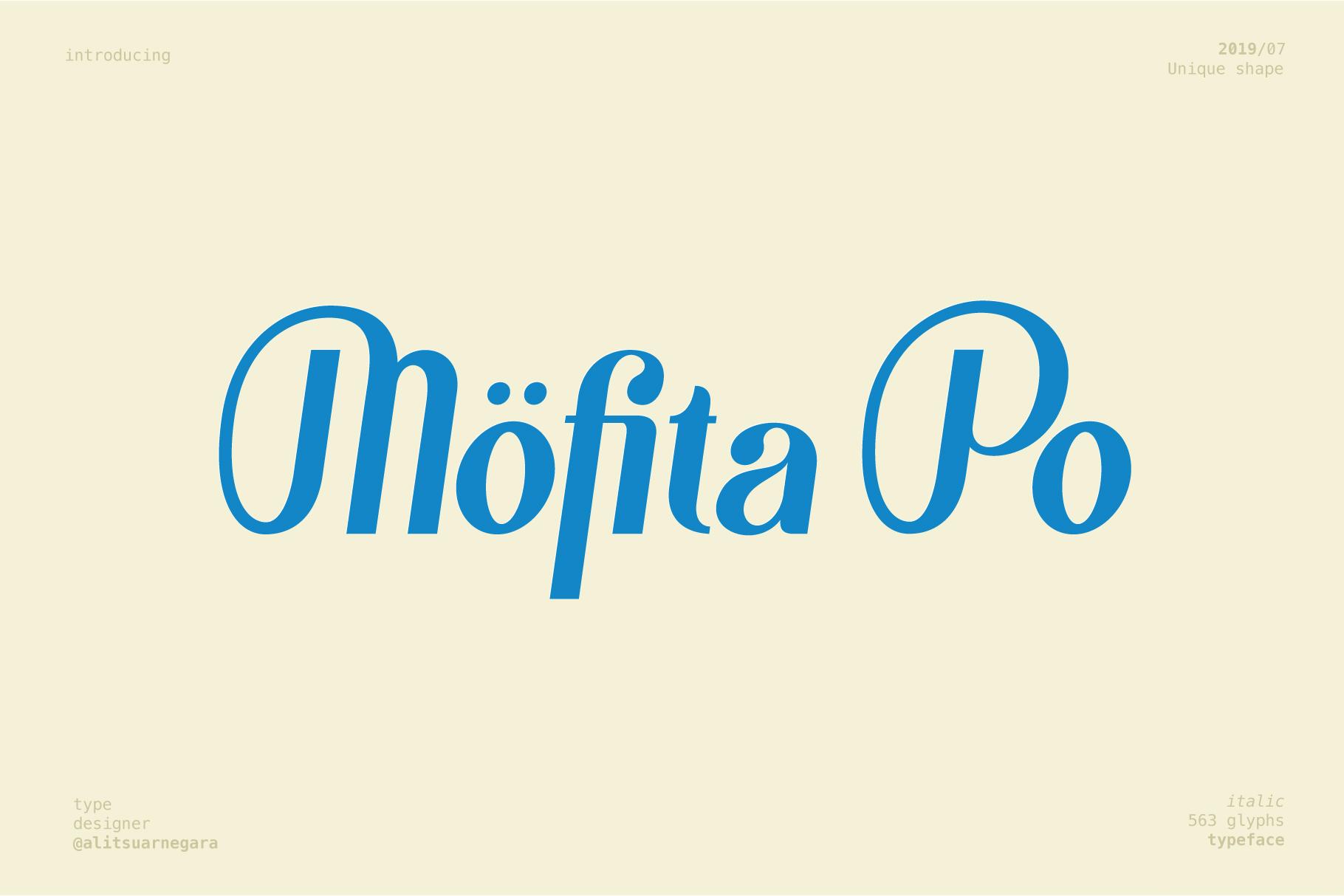 Möfita font example image 8