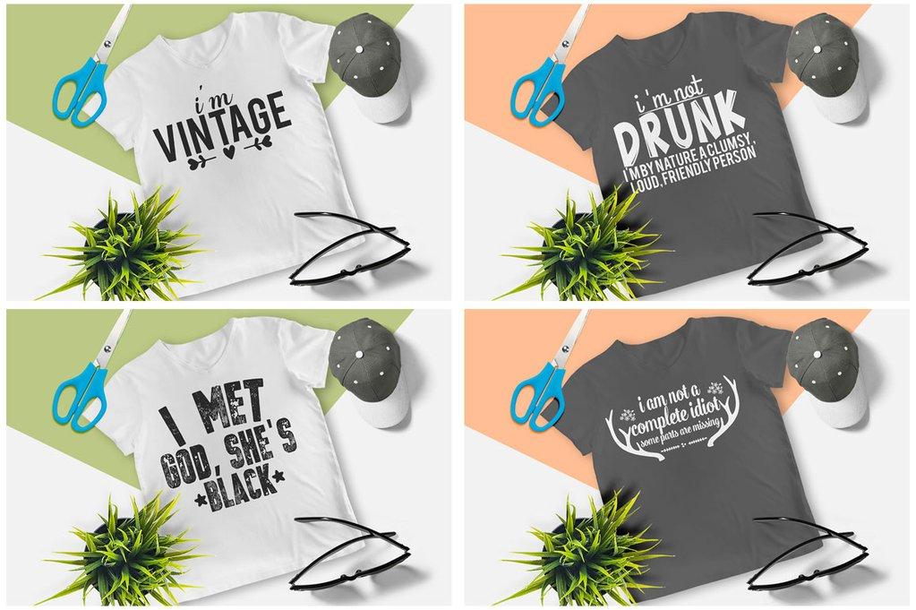 200 Printready Tshirt Design Mega Bundle example image 18