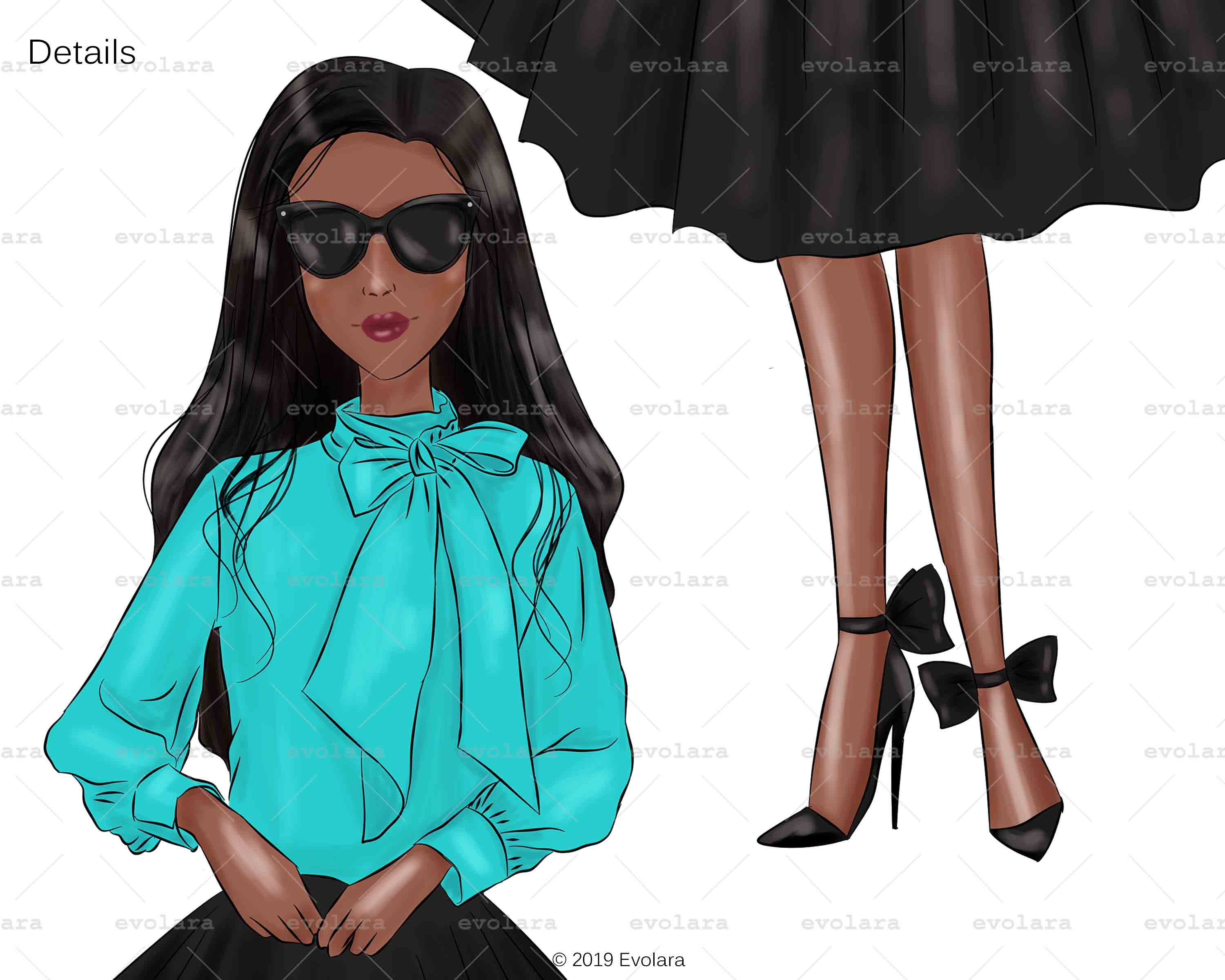 Blue Mint Clipart Fashion Illustrations Breakfast At Clipart example image 8