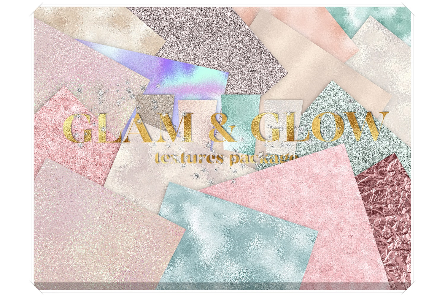 Glamour Textures Bundle example image 1
