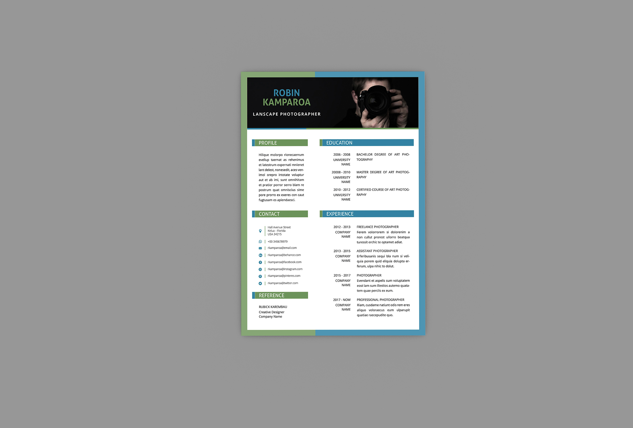 Shining CV Resume Designer example image 4