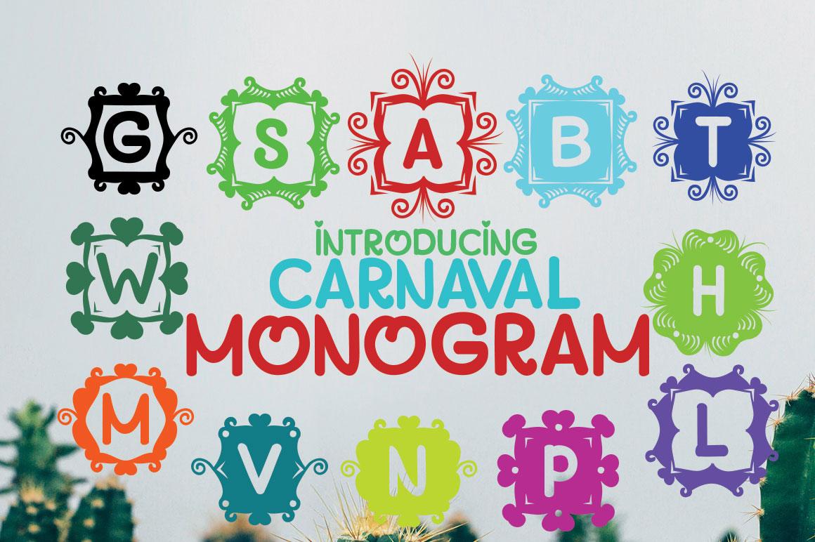 MONOGRAM CARNAVAL example image 4