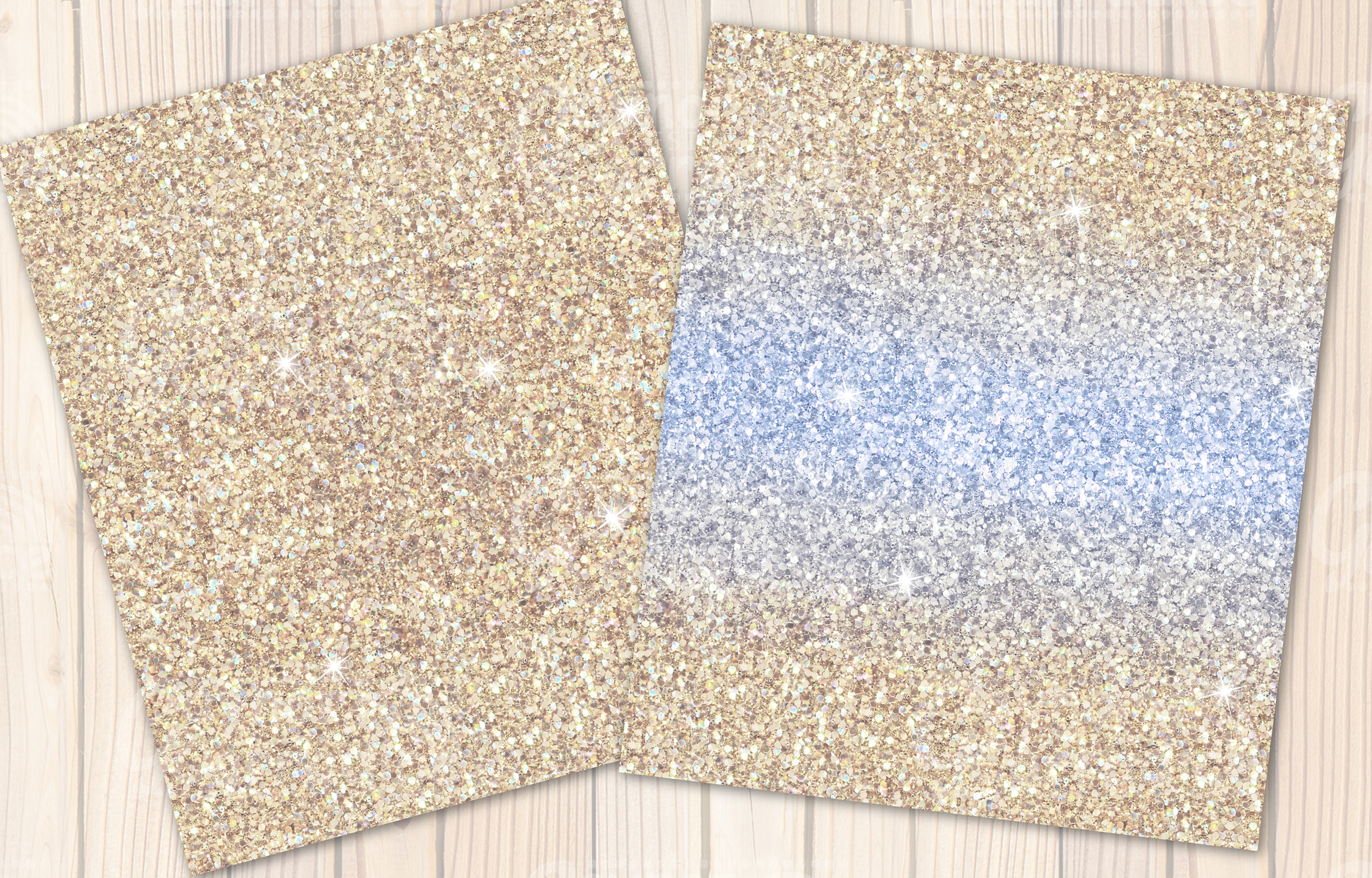 Provence- purple Glitter backgrounds example image 2