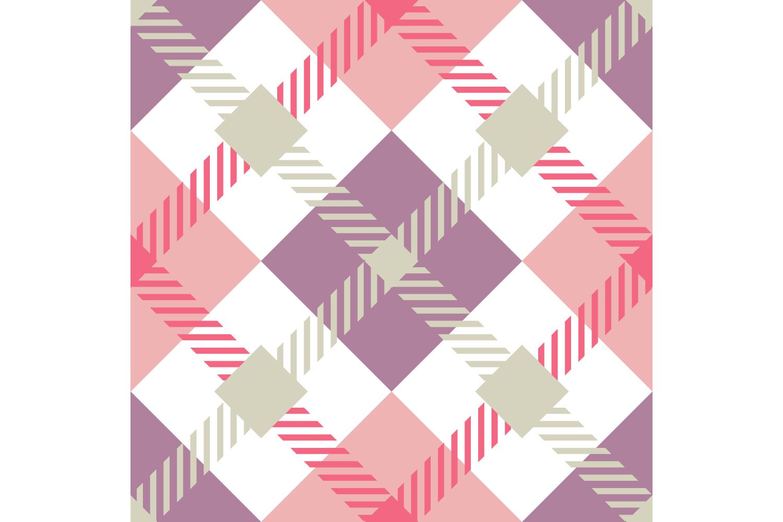 Tartan texture. Set of 10 seamless patterns. example image 10