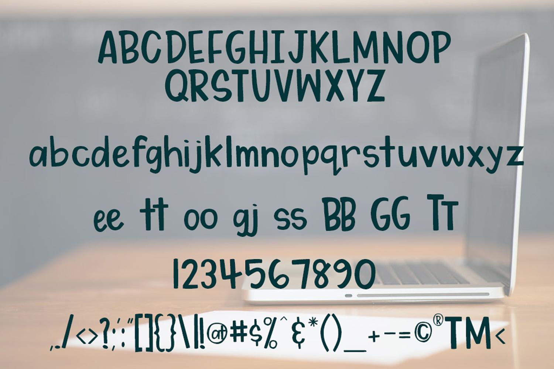 My Dear Watson Font example image 2