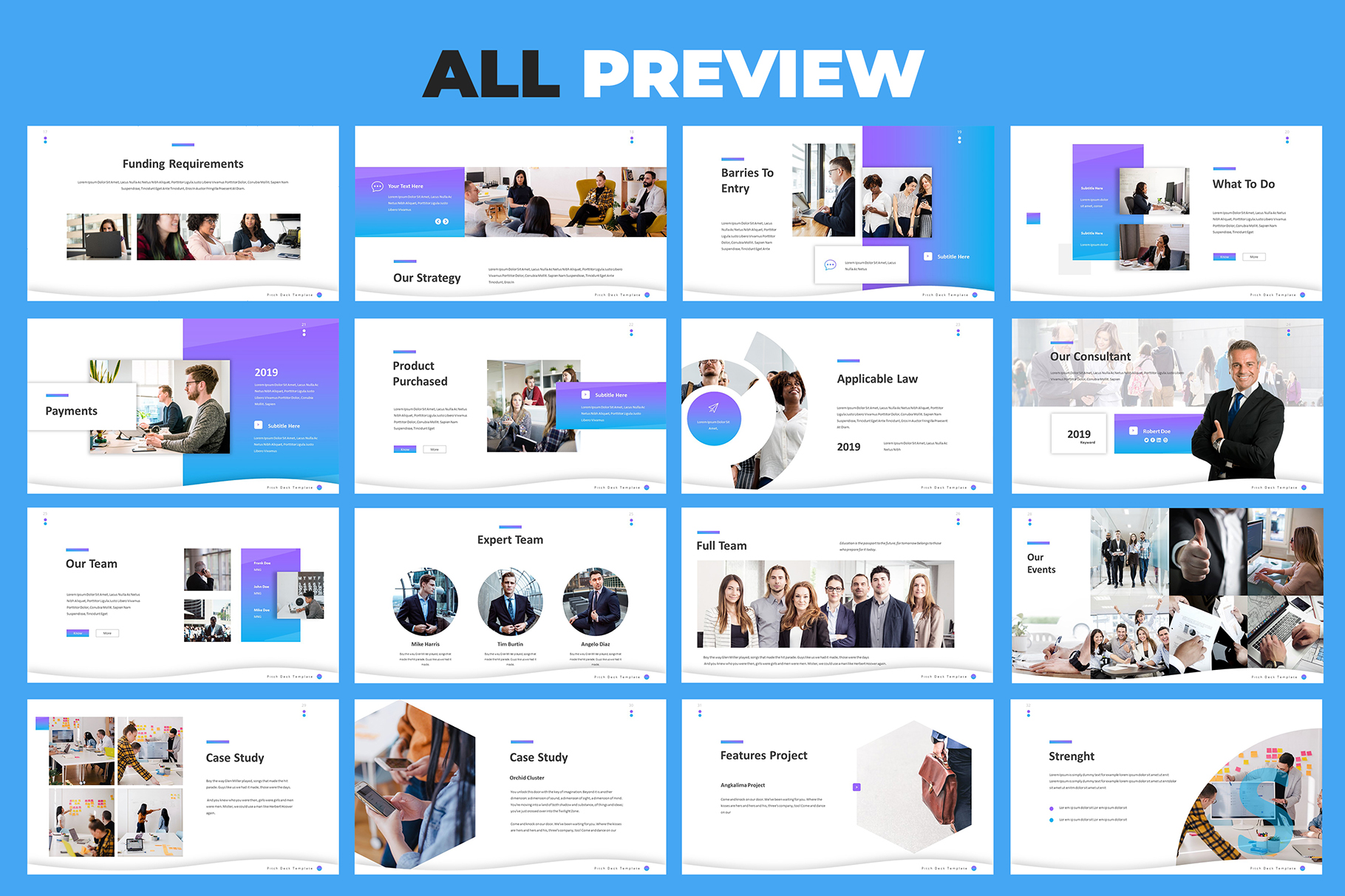 Pitch Deck Google Slides Template example image 6