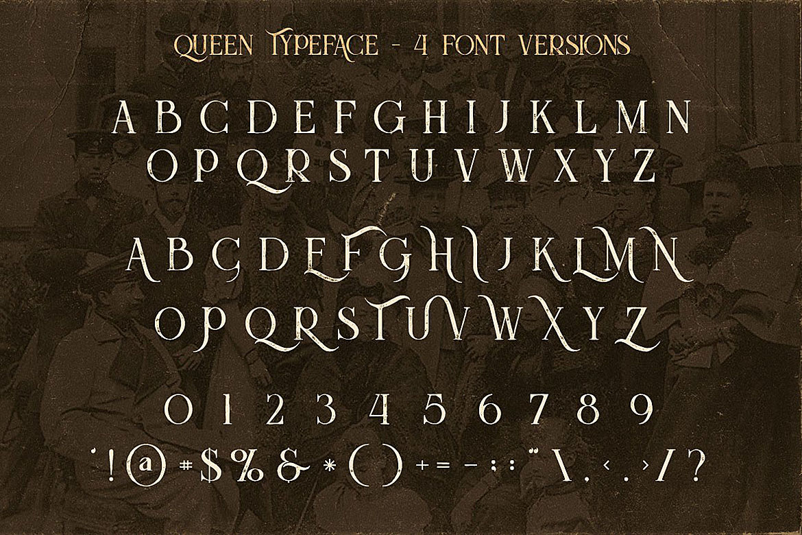 Queen - Display Font example image 4