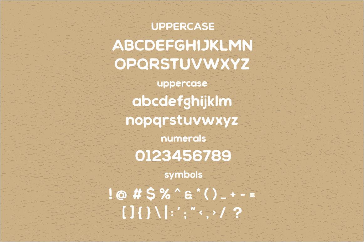Chalif Typeface example image 3