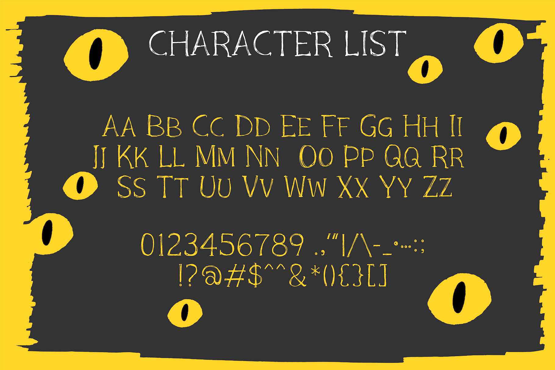 Black Cat Whiskers - Mini Serif Font example image 7