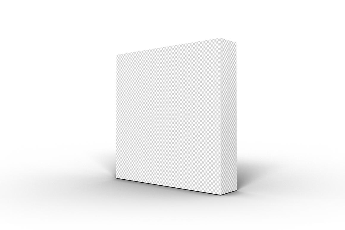 5.5.1 Simple 3D Box Mockup PSD example image 2