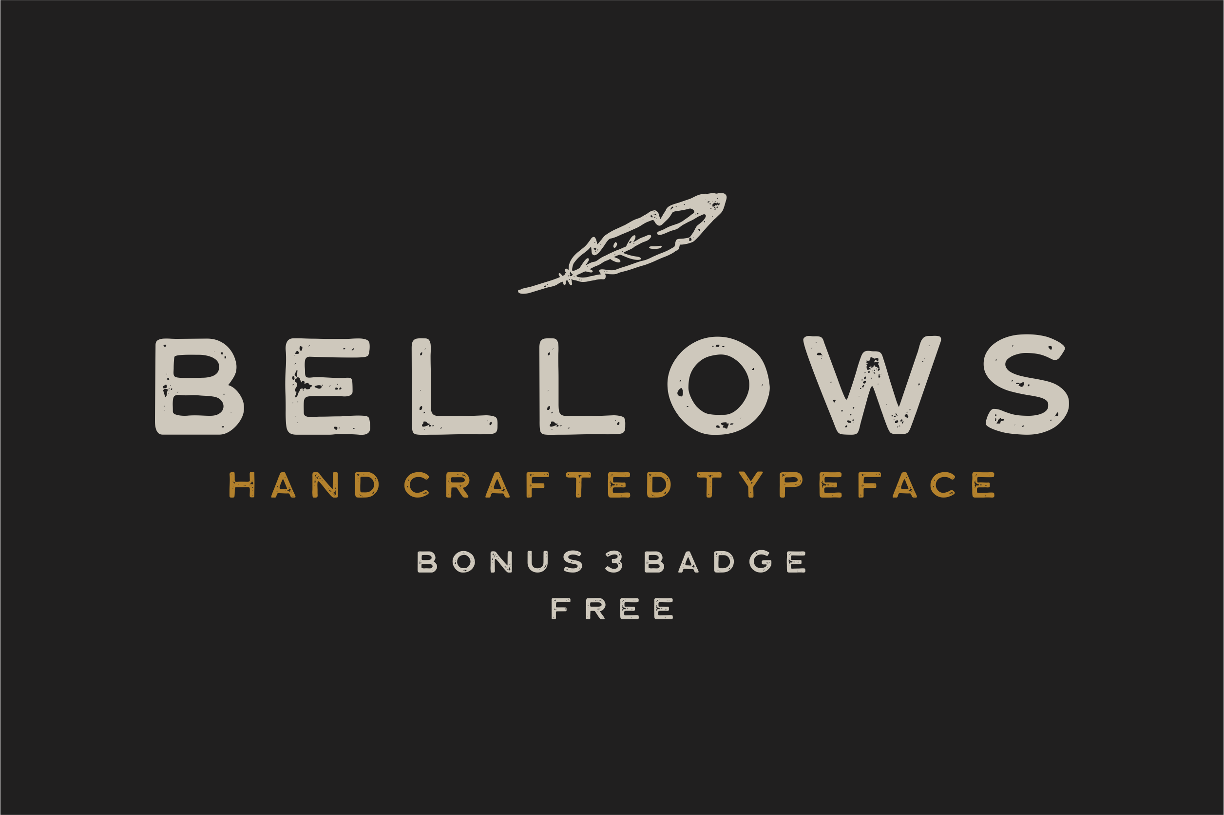 Bellows Typeface example image 7
