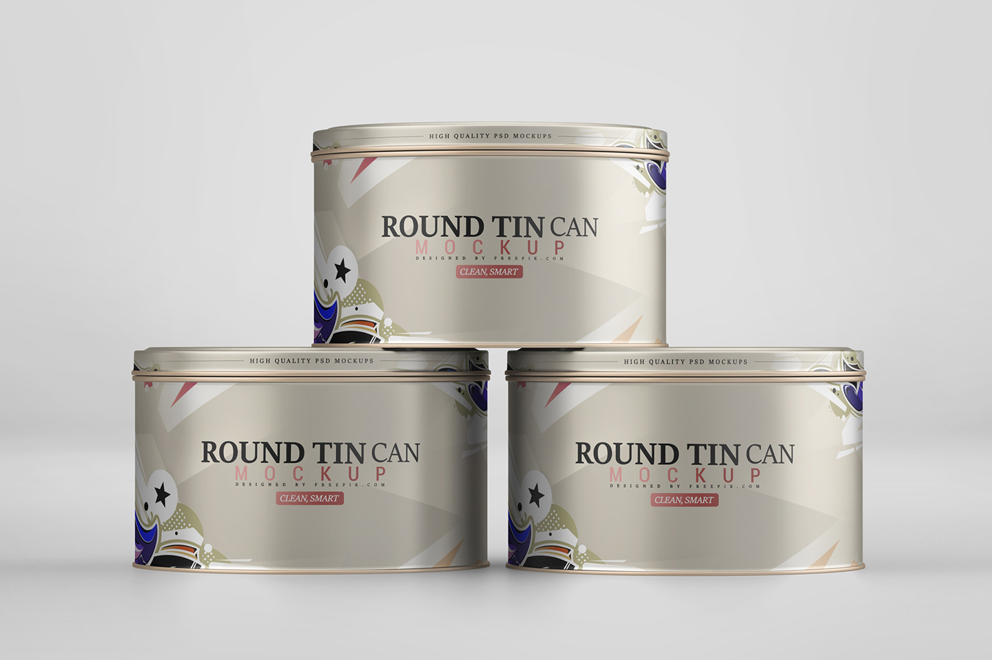 Round Tin Can Mockup example image 8
