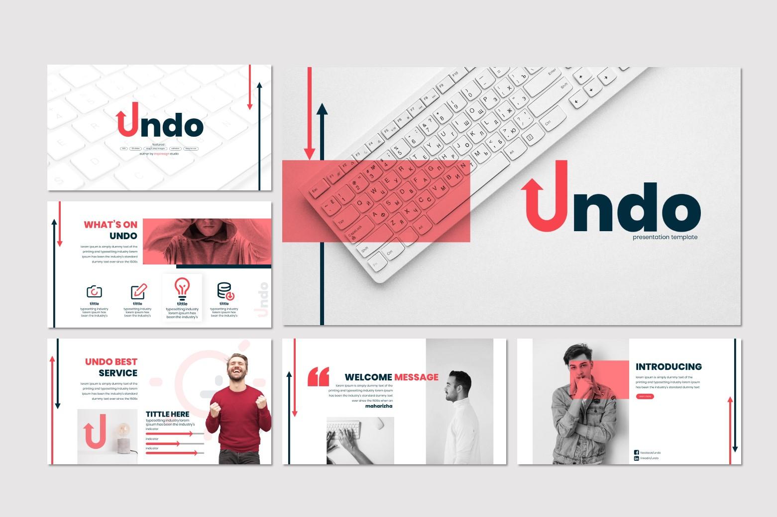 Undo - Google Slides Template example image 2