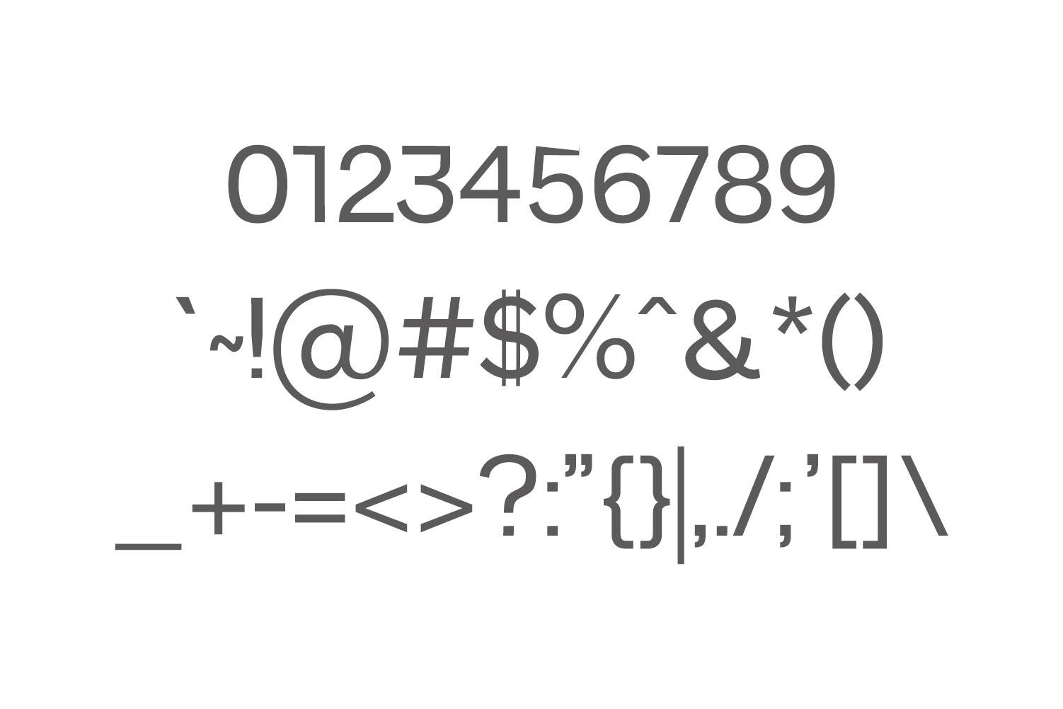 Walcot Modern Sans Serif Font example image 3