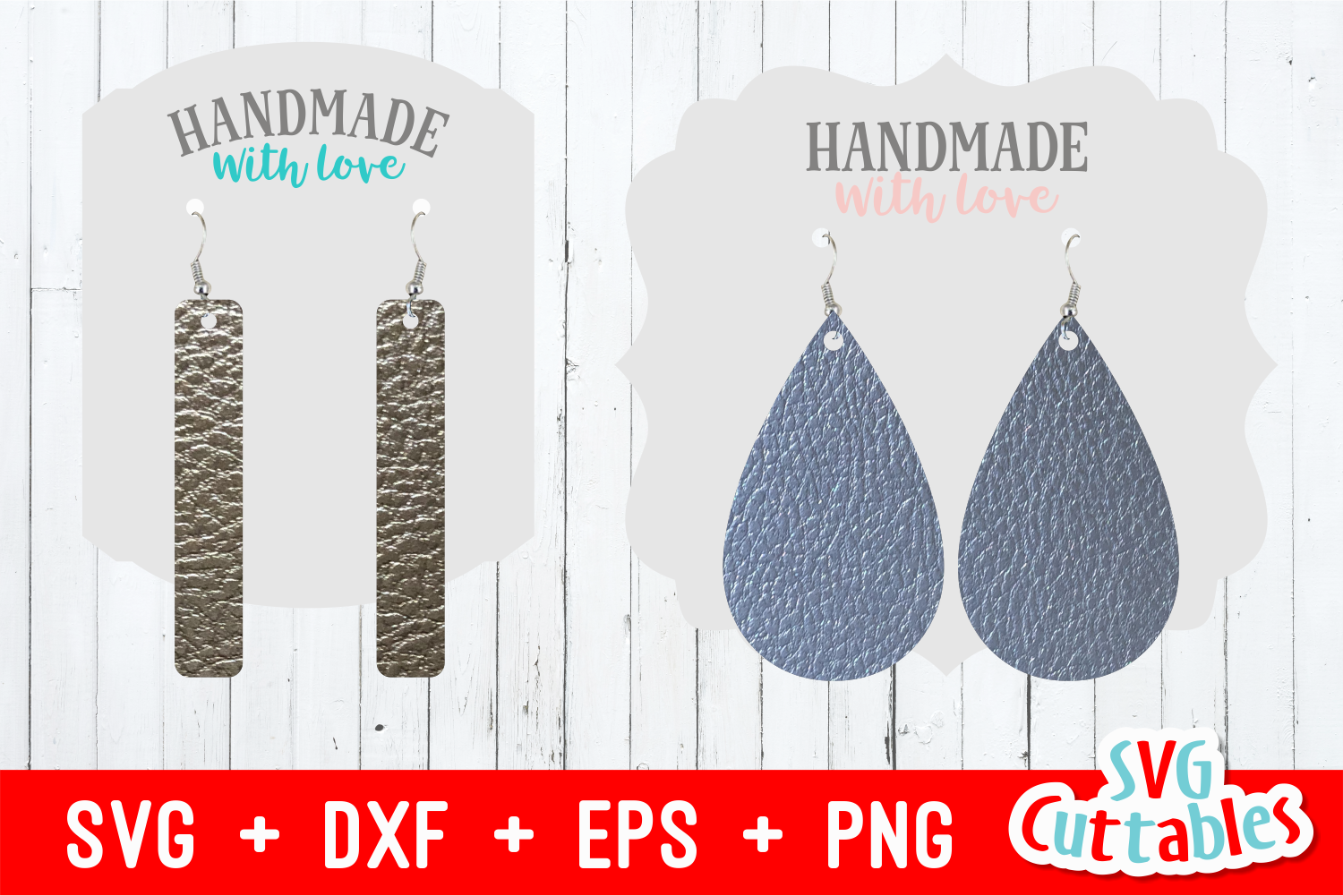 Earring Bundle | SVG Cut Files example image 2