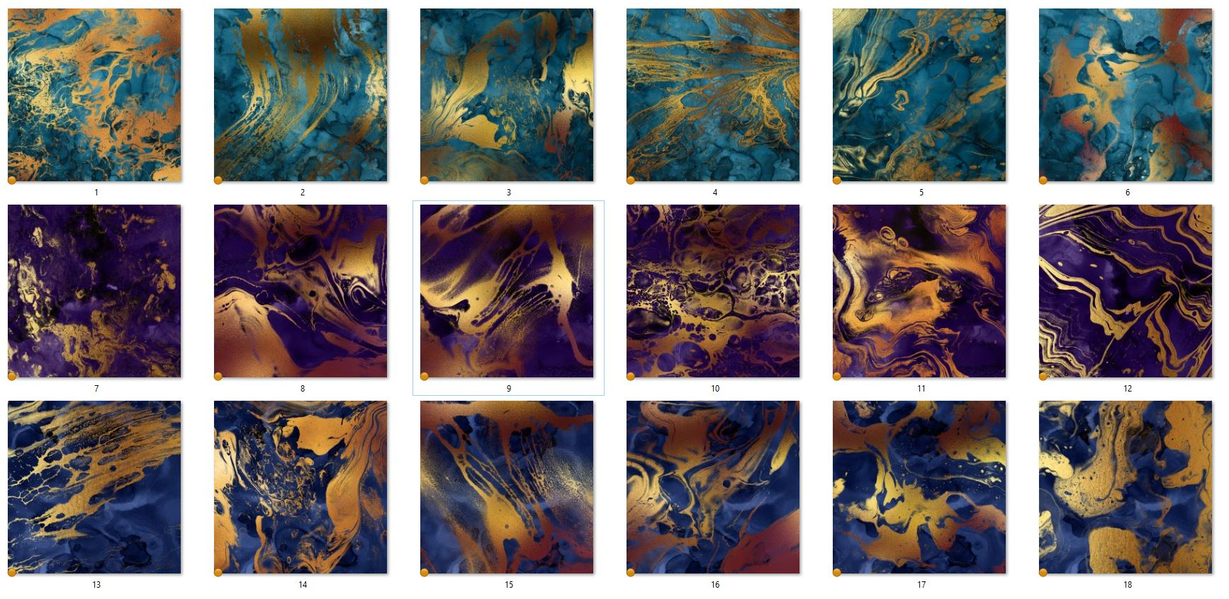 Fire and The Sea Textures example image 3