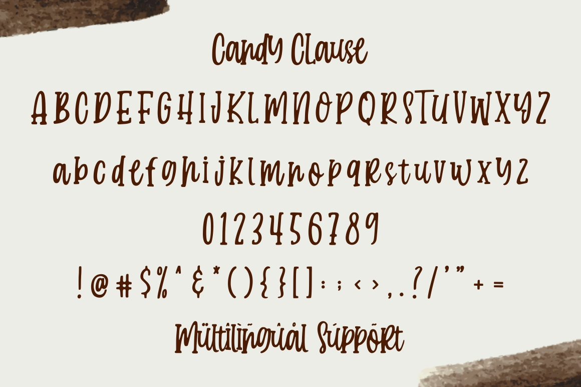 Candy Clause - Handdrawn Font example image 8