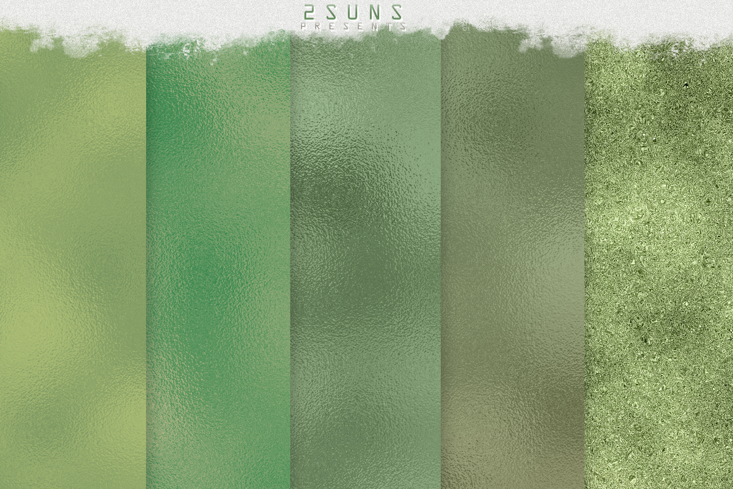 Green Dream digital papers textures, background, invitation example image 6