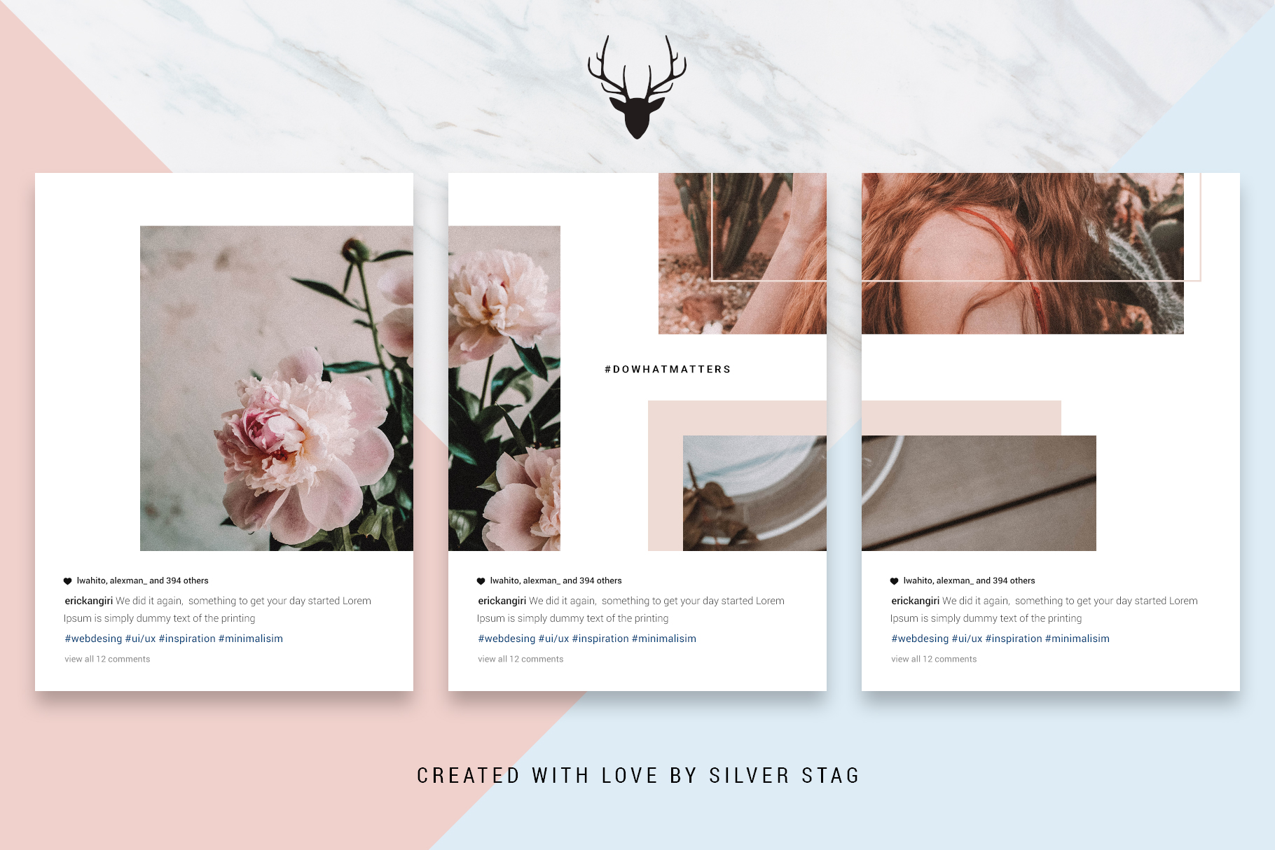 #InstaGrid 1.0 - Instagram Canva Puzzle Template example image 12