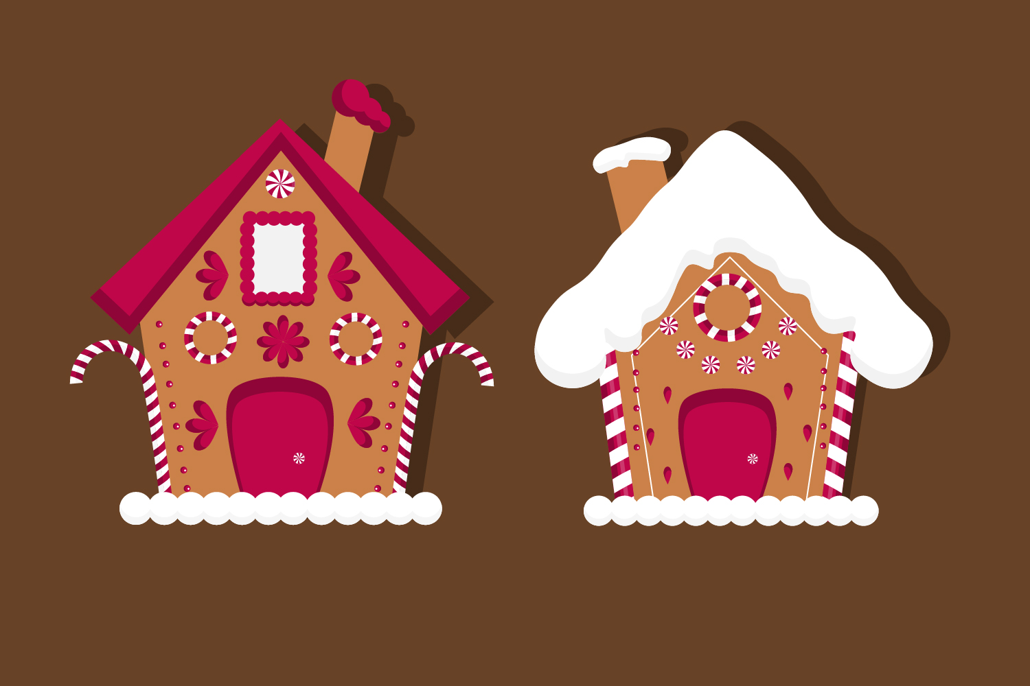 Christmas gingerbread house clipart, christmas example image 3
