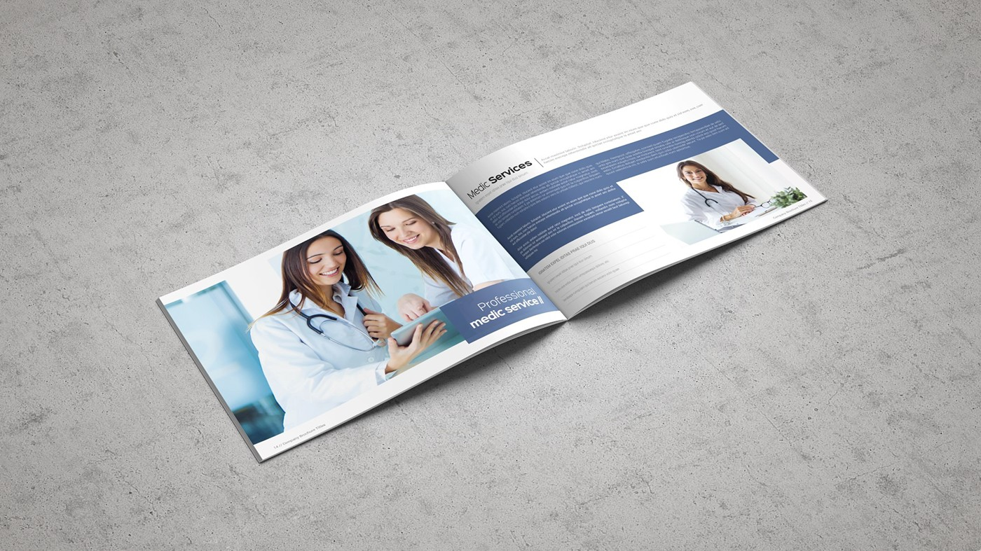 Health & Care Brochure Template example image 23