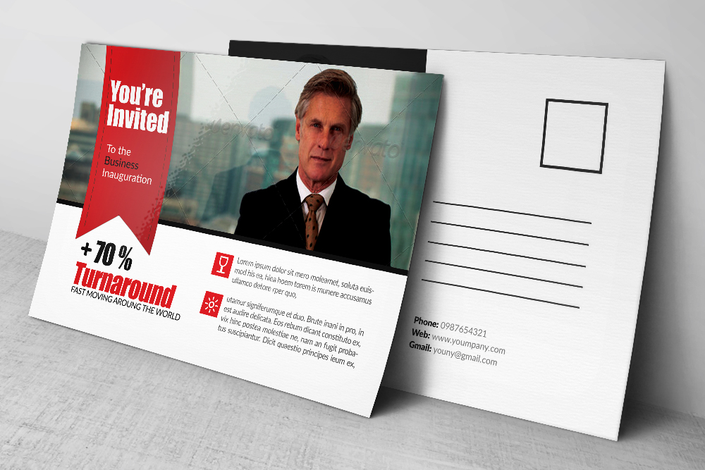 Business Post Card example image 2