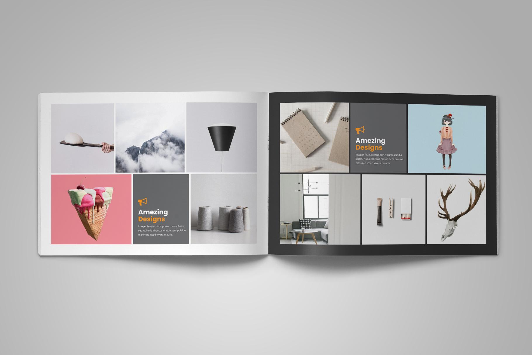 Digital Agency Portfolio Brochure v2 example image 7