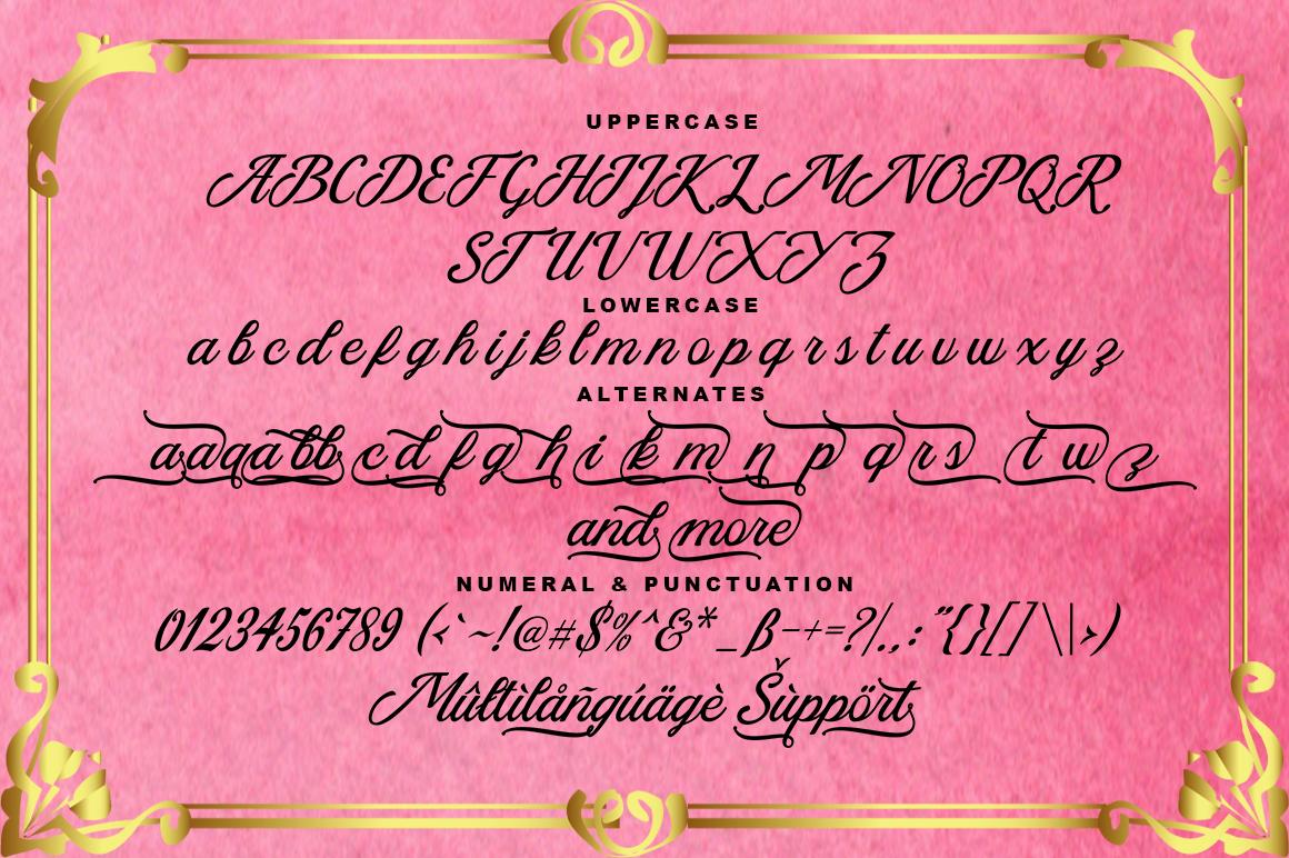 Azzury Script example image 6