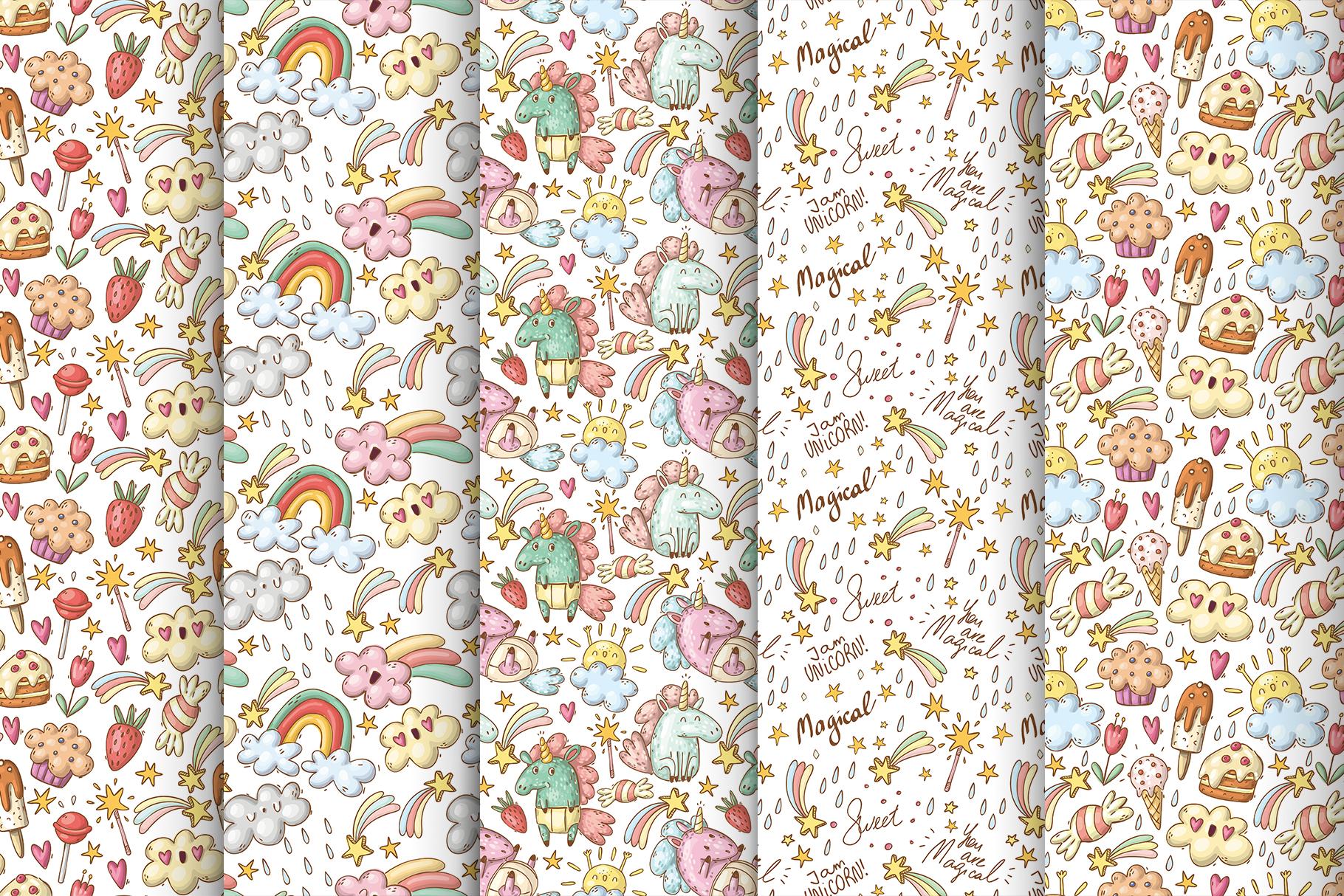 Magical unicorns set example image 4