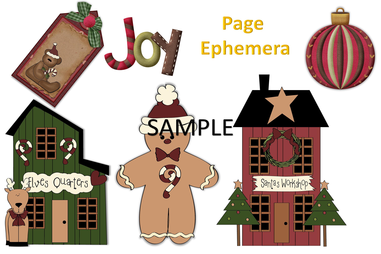 Children's Christmas Journal Kit with Free Ephemera example image 11