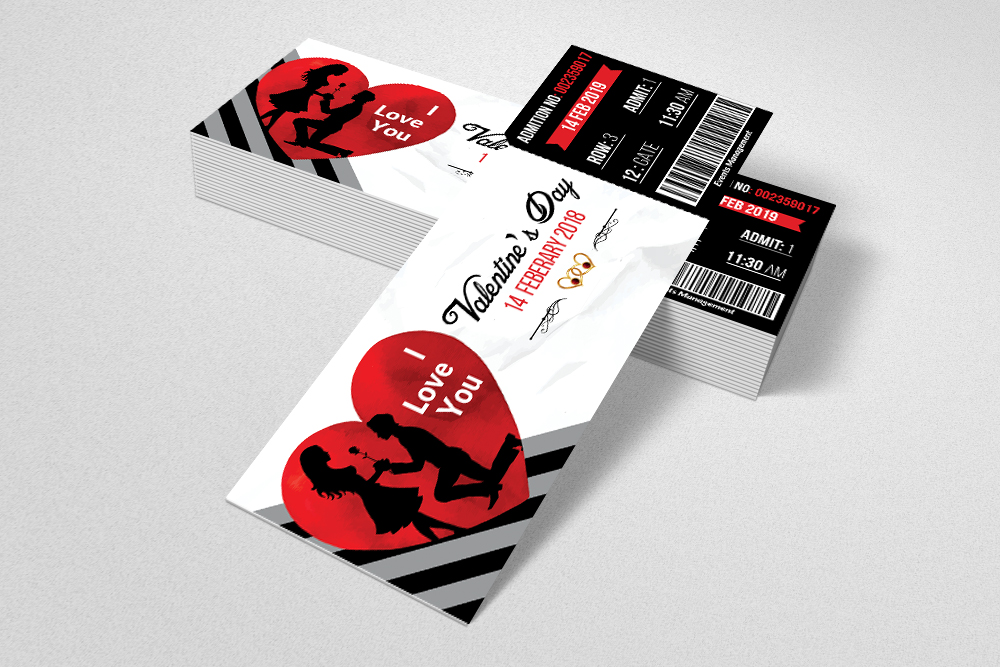 Valentines Party Event Ticket example image 3