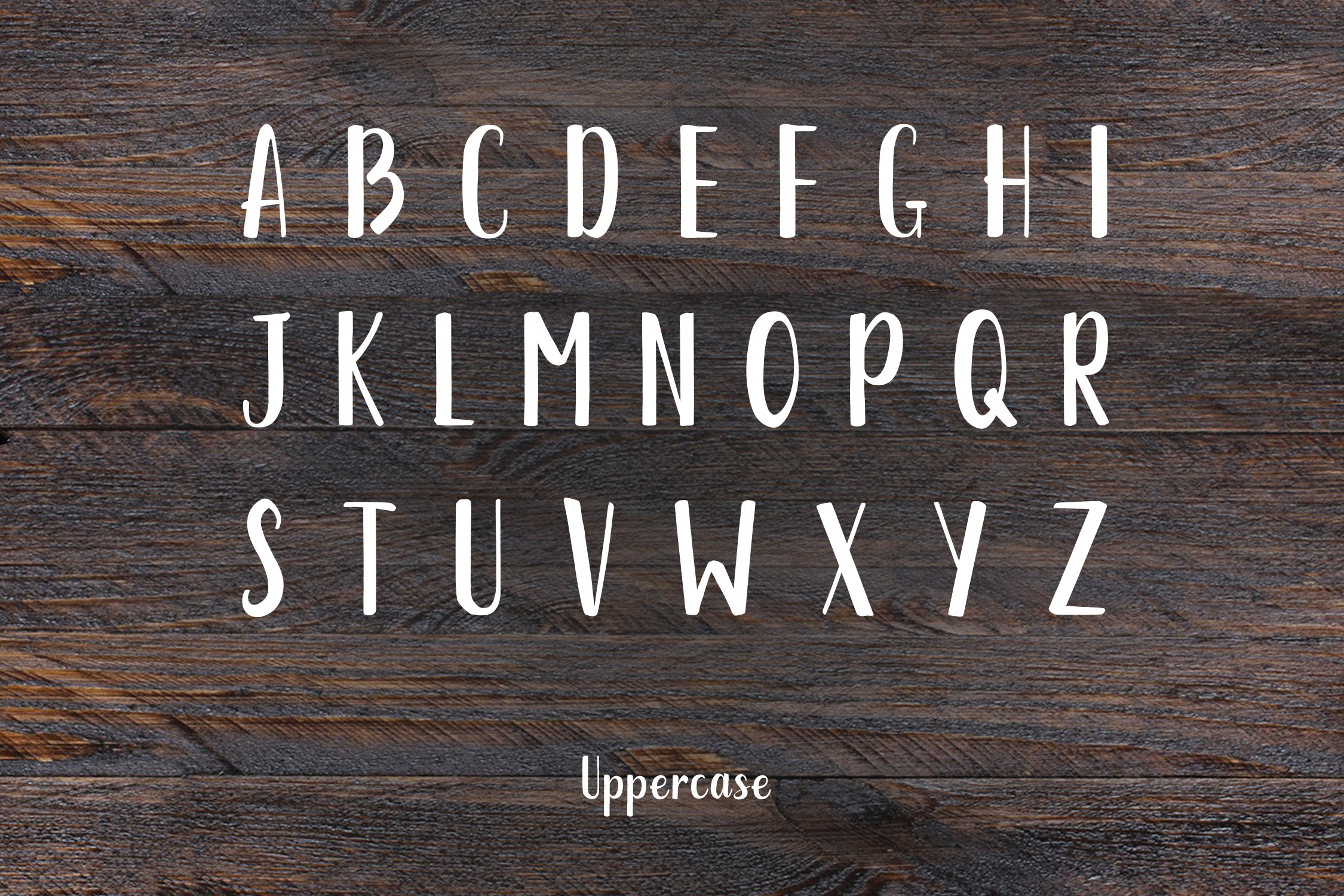 Austra Extended Brush Font example image 2