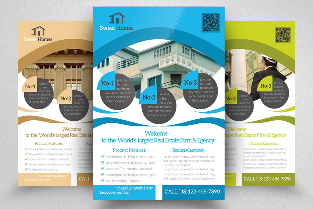 6 Real Estate Agency Flyers Bundle example image 6