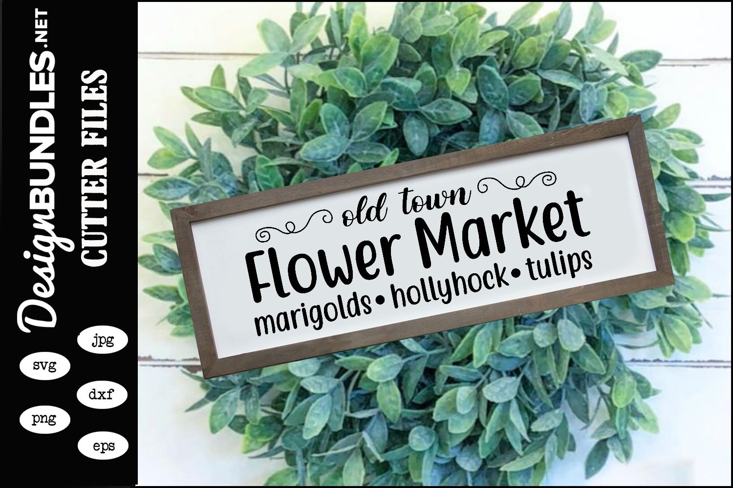 Flower Market SVG example image 1