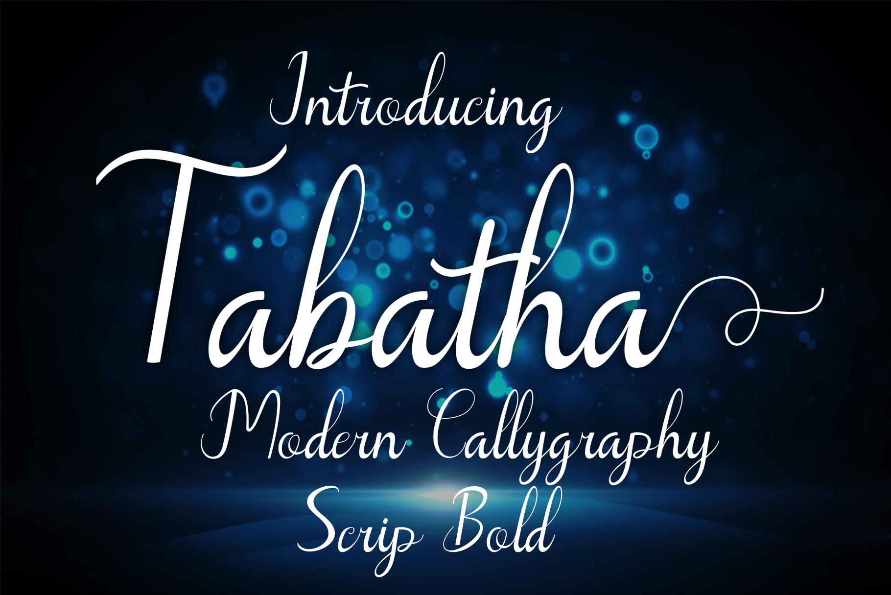 Tabatha example image 1
