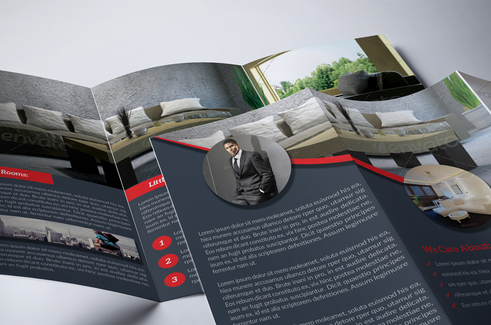 Real Estate Trifold Brochure example image 4