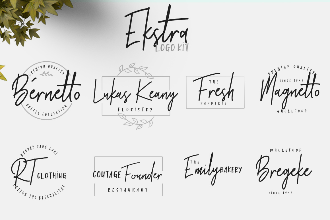 Brotherhood Font Duo + Ekstra example image 9