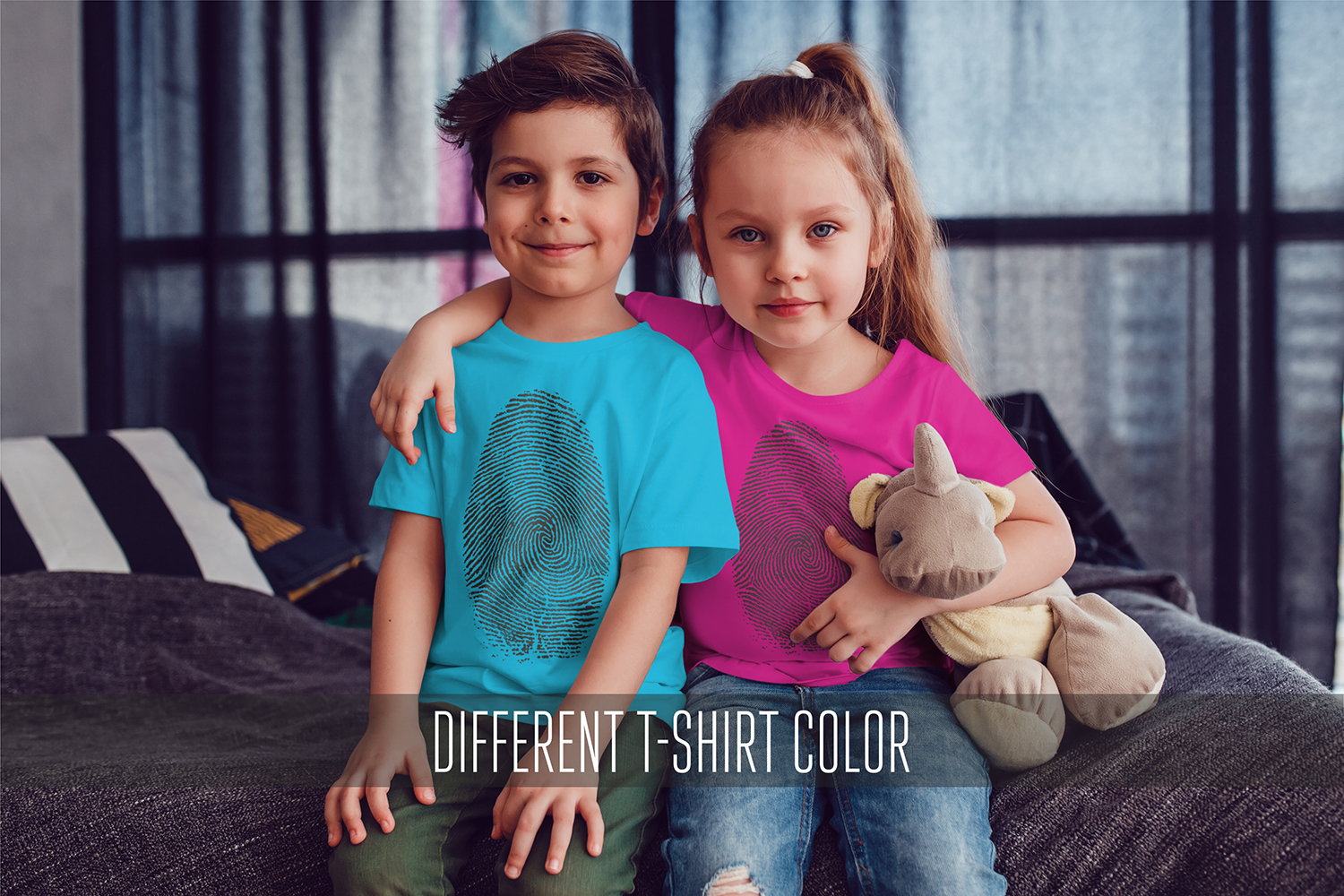 Kids T-Shirt Mock-Up Vol.3 2017 example image 15