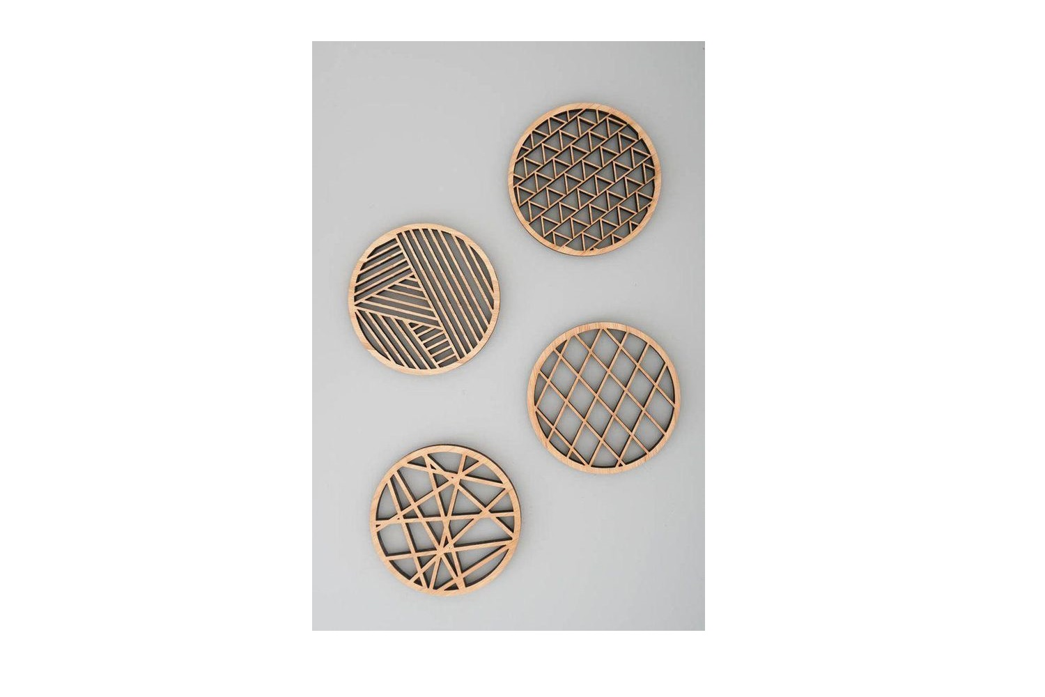 9 Earring Digital Designs | Laser Cutting | Wood & Acrylic example image 2